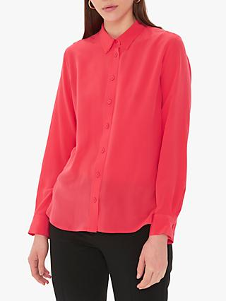 Gerard Darel Ethan Silk Shirt, Orange