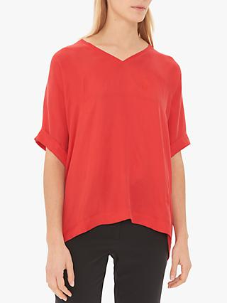 Gerard Darel Electre Short Sleeve T-Shirt, Red