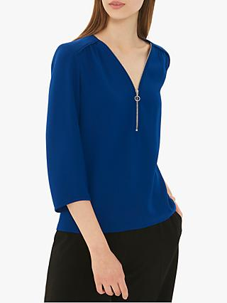 Gerard Darel Elise Blouse, Blue