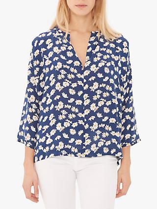 d68464c15e4c4 Gerard Darel Elodie Floral Silk Blouse