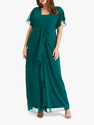 Studio 8 Olympia Maxi Dress, Mid Green