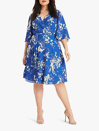 Studio 8 Sabine Floral Dress, Blue/Multi