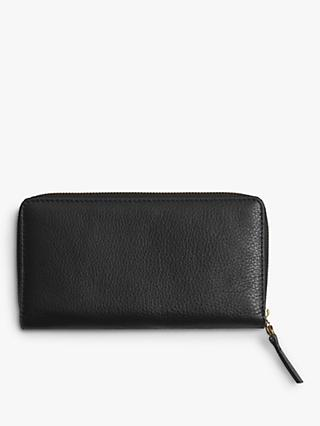 Gerard Darel Leather XL GD Purse, Black