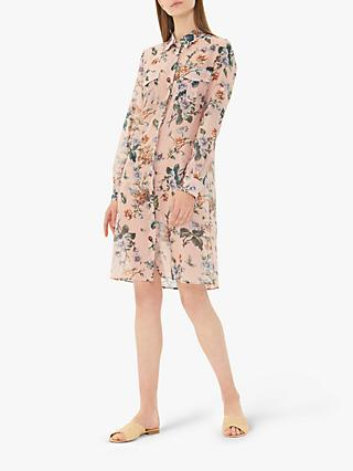Gerard Darel Ginger Floral Dress, Pink/Multi