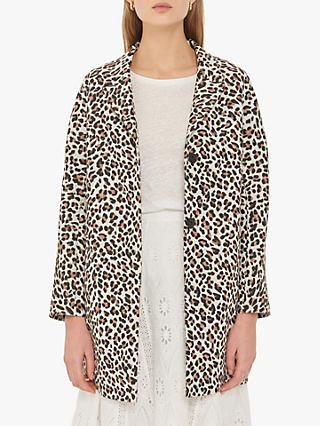 Gerard Darel Lucie Coat, Natural