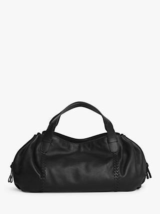 eff977a08c339 Gerard Darel Point 24 Leather Shoulder Bag, Black