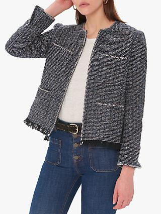 Gerard Darel Sevana Jacket, Blue
