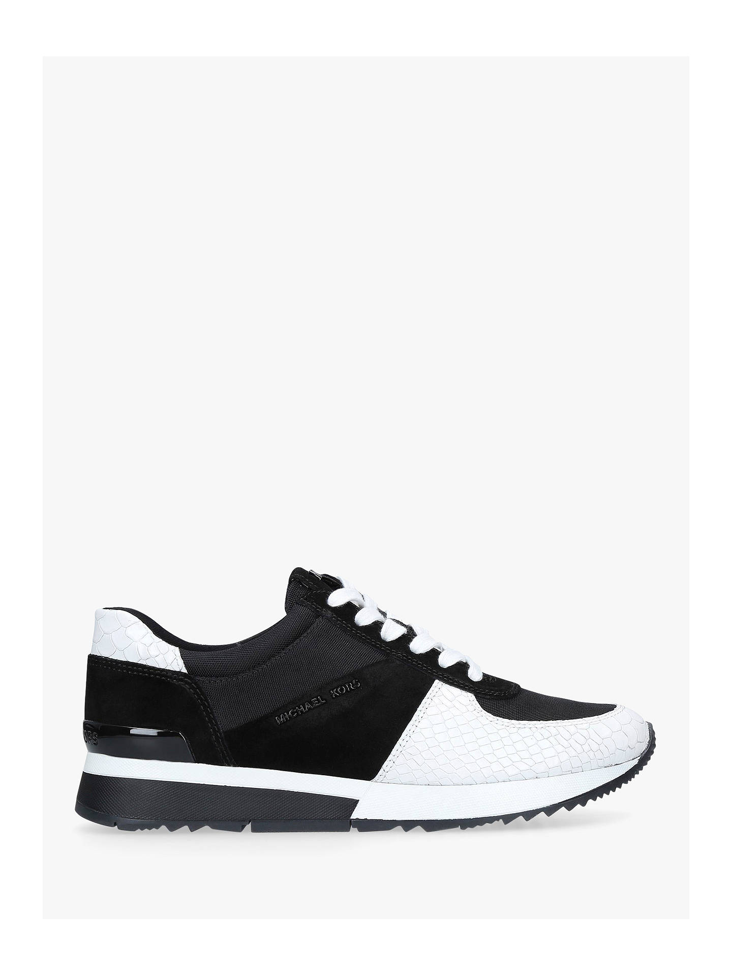 94042c3f4a97 MICHAEL Michael Kors Allie Lace Up Trainers at John Lewis   Partners