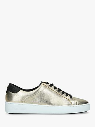 c8dda45e3bc1b8 MICHAEL Micheal Kors Irving Leather Trainers