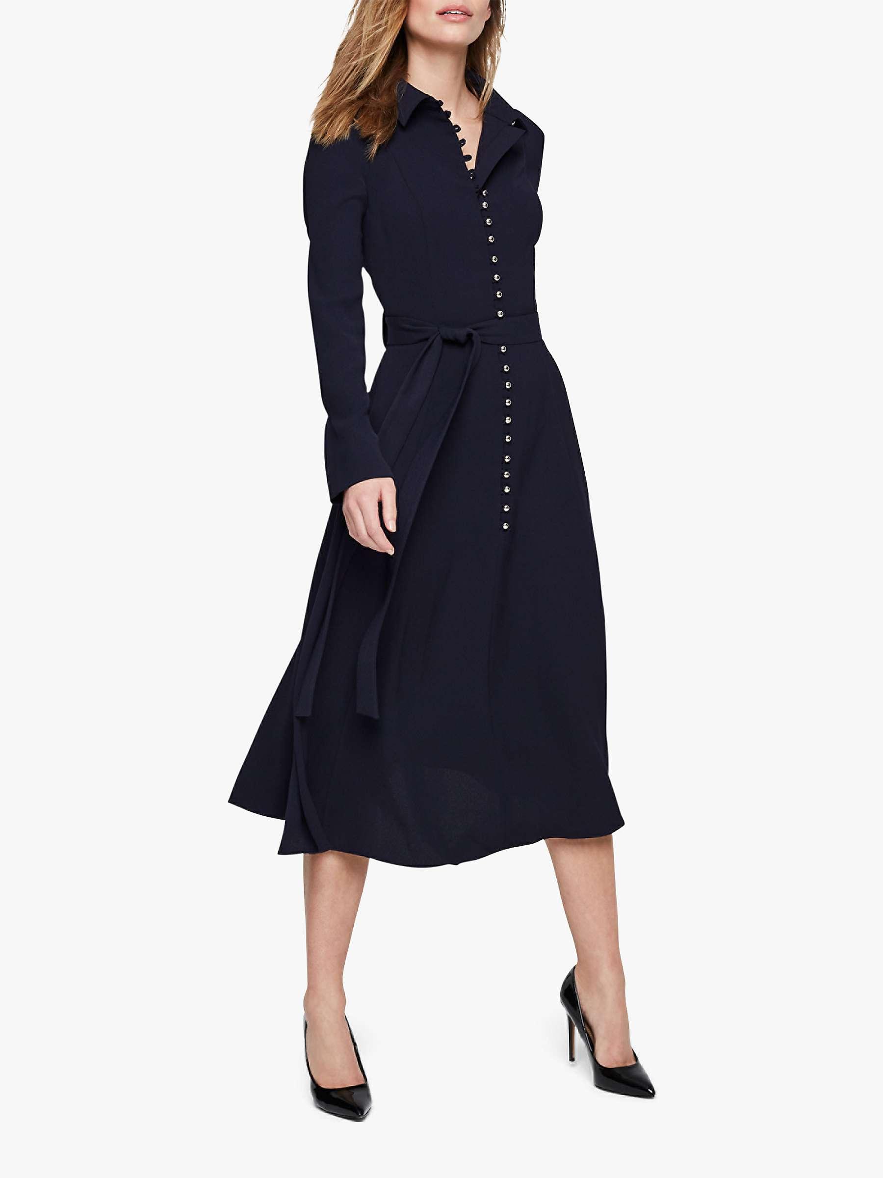 Damsel In A Dress Lanie Military Dress, Navy by John Lewis
