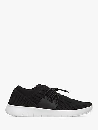 FitFlop Airmesh Toggle Slip-On Trainers, Black