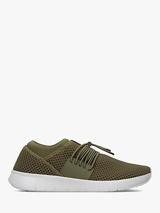 FitFlop Airmesh Toggle Slip-On Trainers, Green