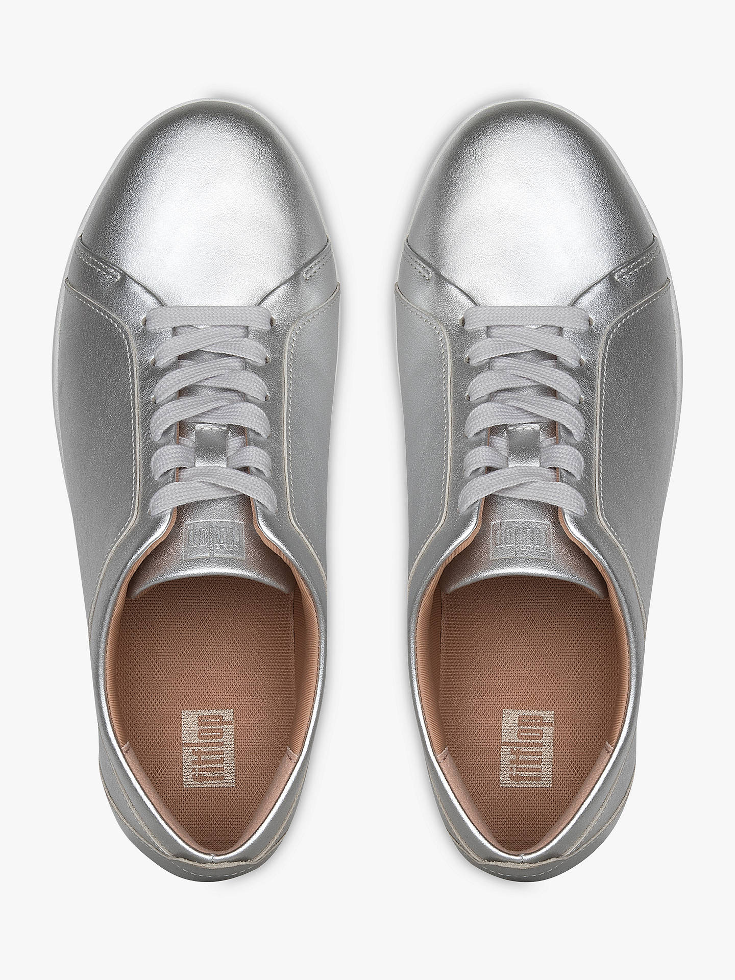 0cd50e1be2f5 FitFlop Rally Lace Up Trainers at John Lewis   Partners