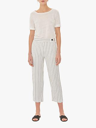 Gerard Darel Nadege Striped Trousers, Ecru