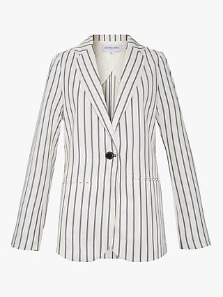 Gerard Darel Stella Jacket, White/Multi
