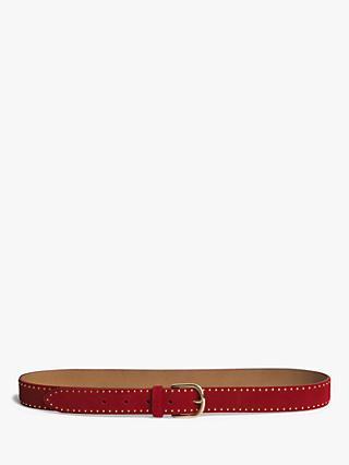 Gerard Darel Passage Cloute Studded Leather Belt