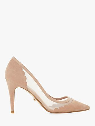 02dd7ea90f1 Dune Bellevue Pointed Toe Court Shoes
