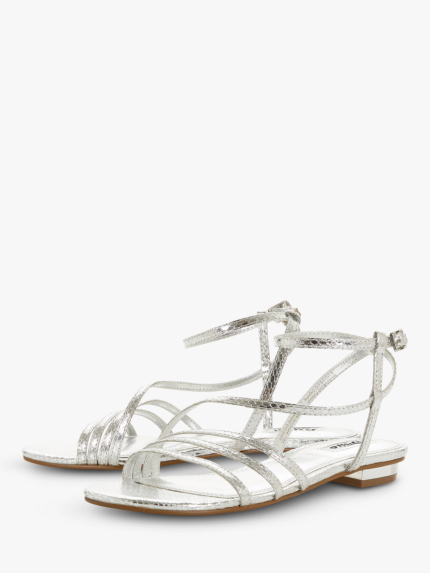 a4145c09f93 Dune Nissey Strappy Sandals at John Lewis   Partners