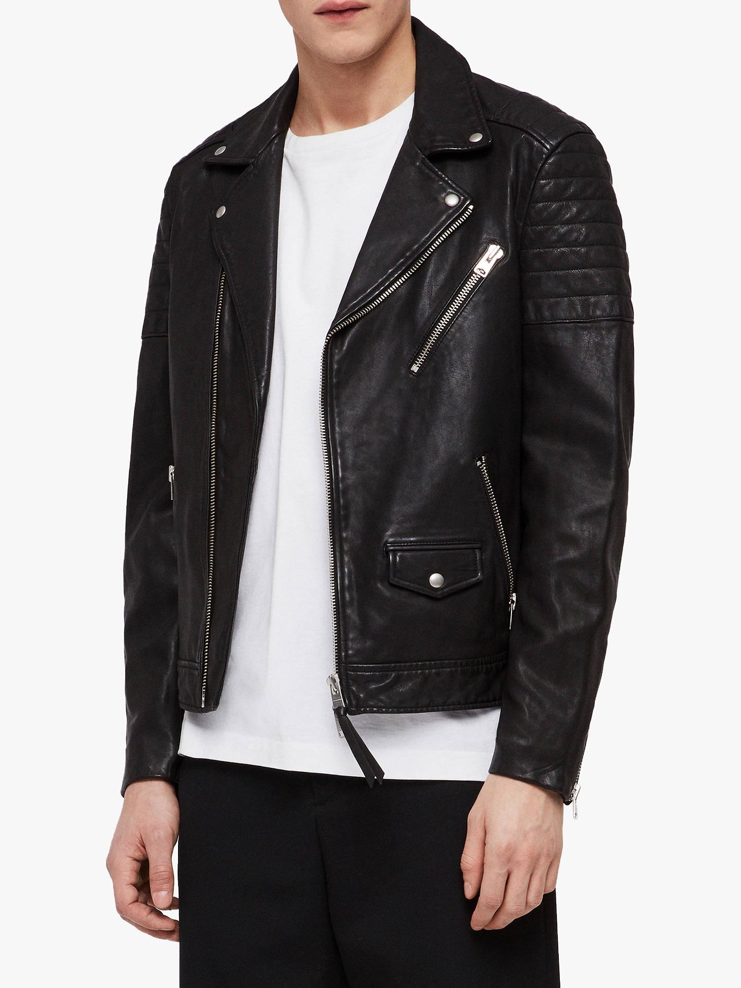 65852f4b4c4 Buy AllSaints Leo Leather Biker Jacket