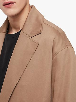 AllSaints Reynolds Trench Coat, Sand