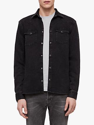 4e46a52195d AllSaints Based Denim Shirt