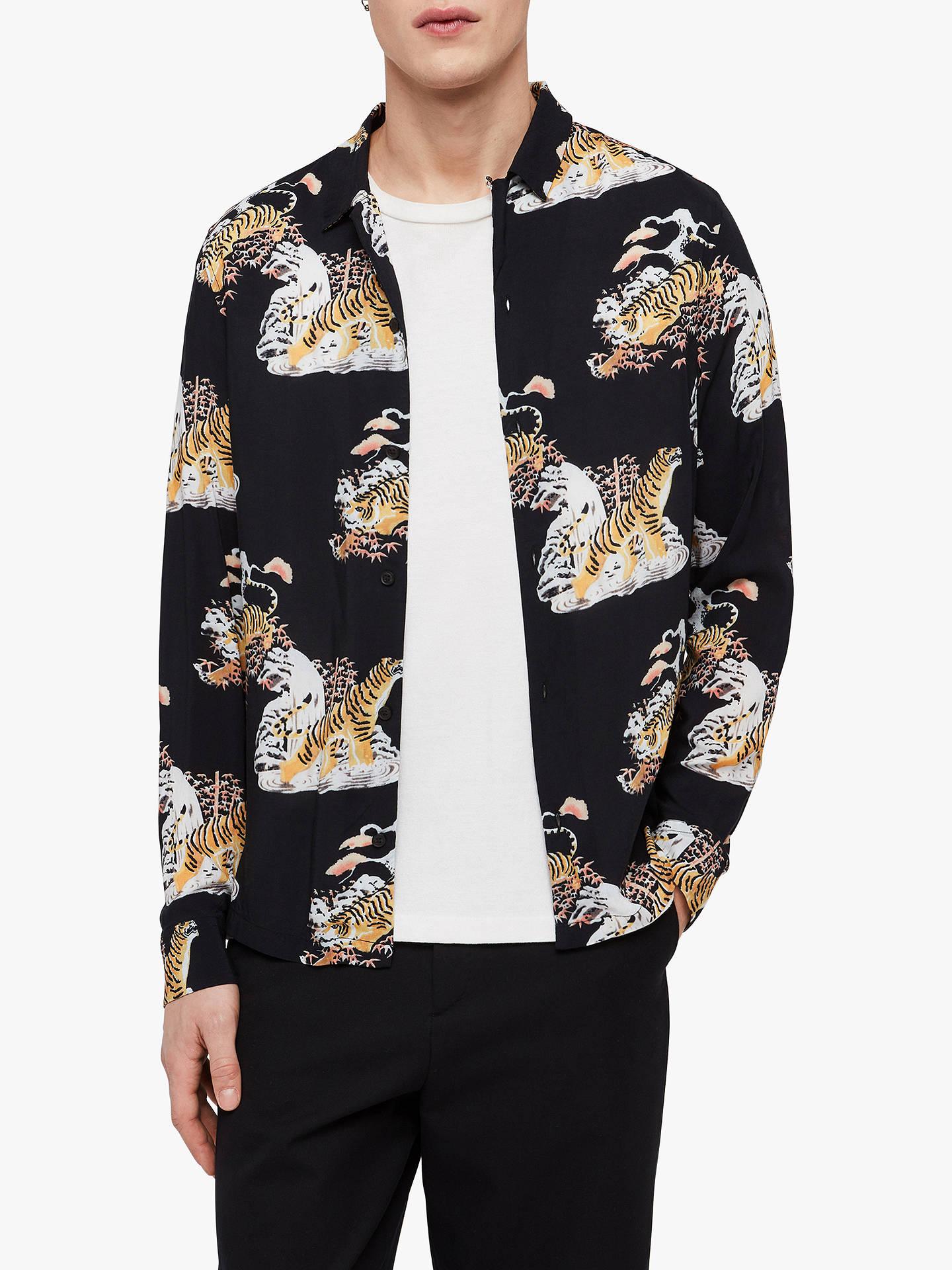 e83a626e8b9 Buy AllSaints Kirshma Tiger Shirt