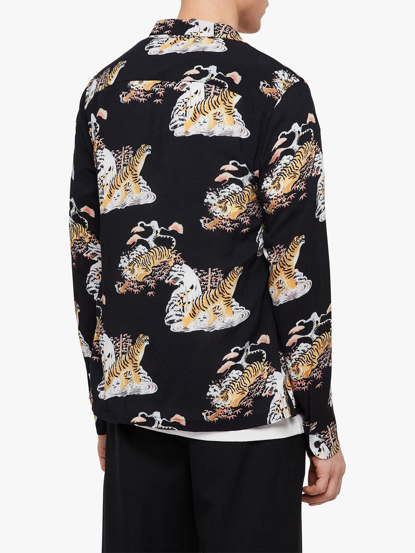 1027c54f3de ... Buy AllSaints Kirshma Tiger Shirt