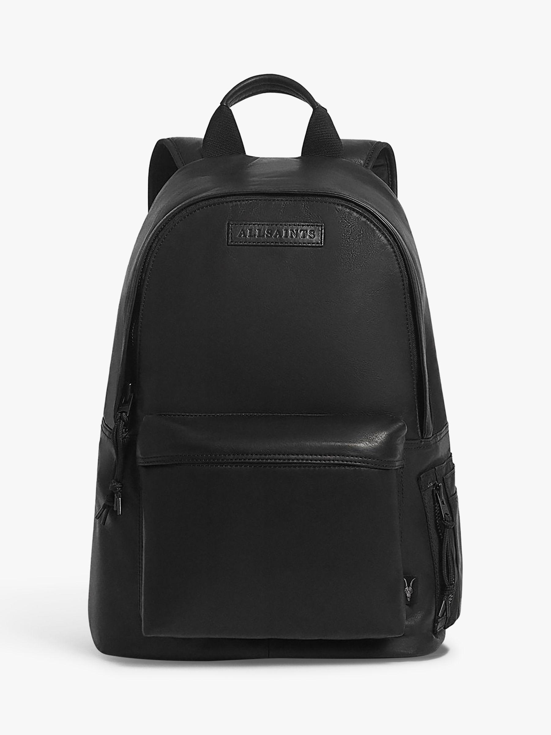 AllSaints AllSaints Hayes Leather Backpack, Black