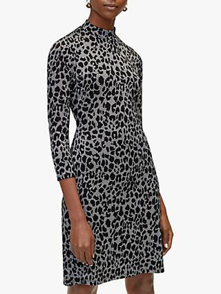 Warehouse Leopard Print Dress bfdfc71c1