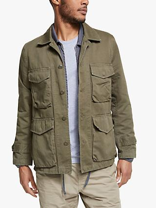 Save Khaki United Bulldog Twill Sportsman Jacket, Olive Drab