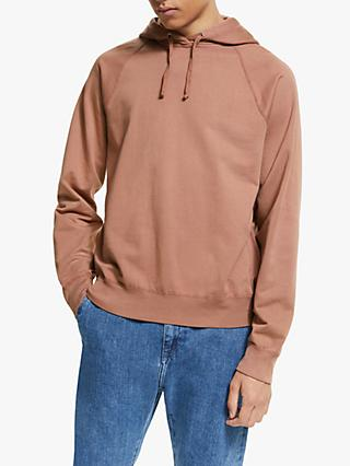 Save Khaki United Supima Fleece Pullover Hooded Sweatshirt, Nutmeg