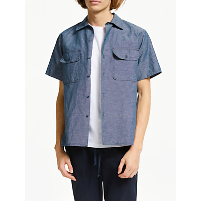 Save Khaki United Cahmbray Shirt, Chambray
