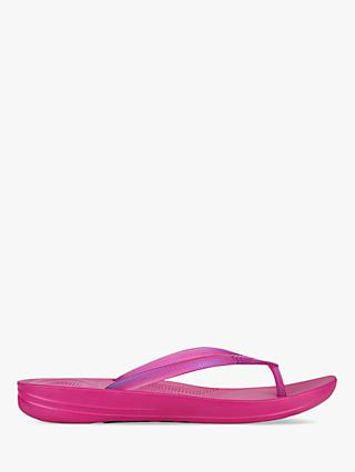 FitFlop Iqushion Pearlised Ergonomic Flip Flops