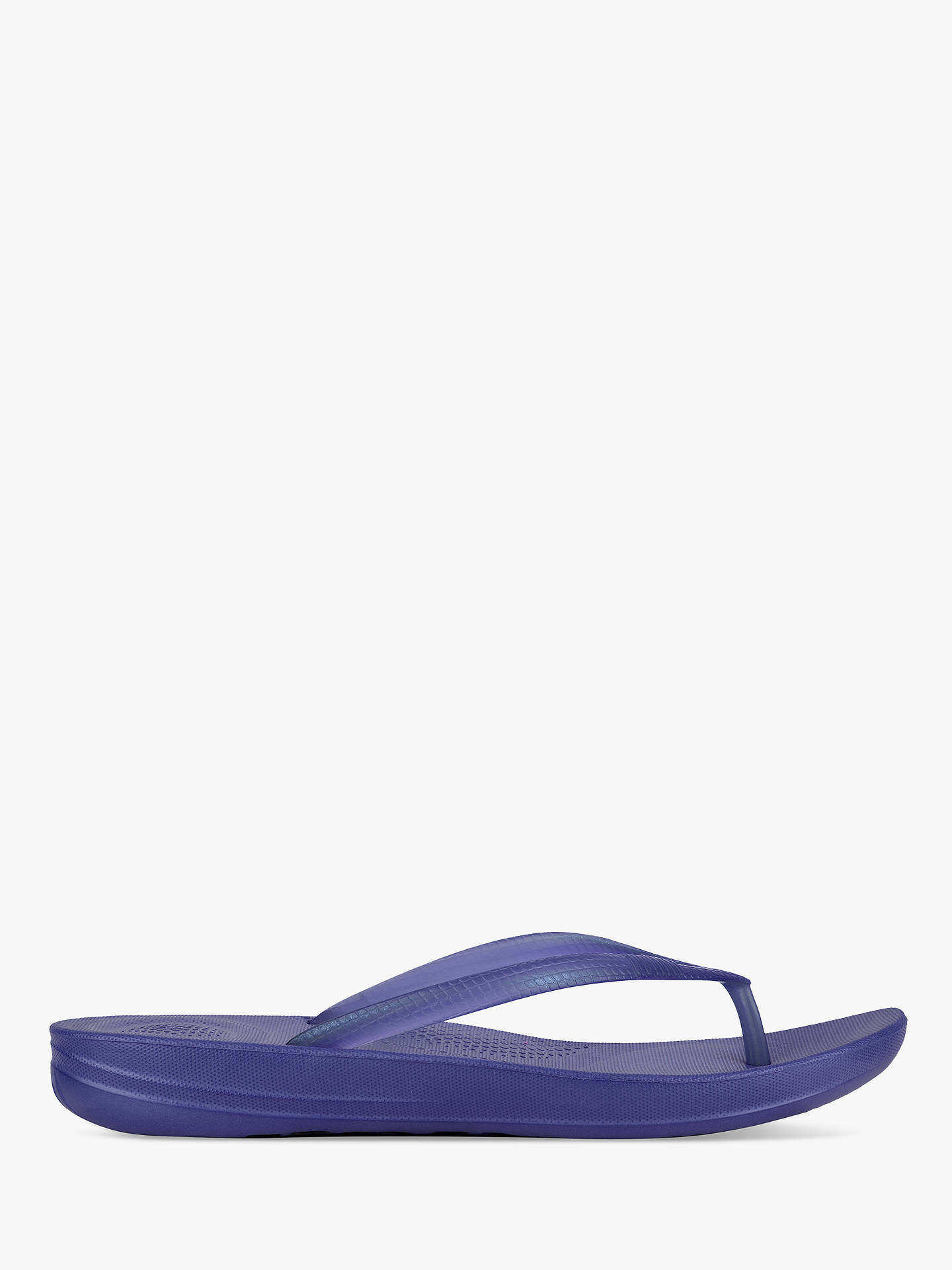ac2df9f25609 FitFlop Iqushion Pearlised Ergonomic Flip Flops at John Lewis   Partners