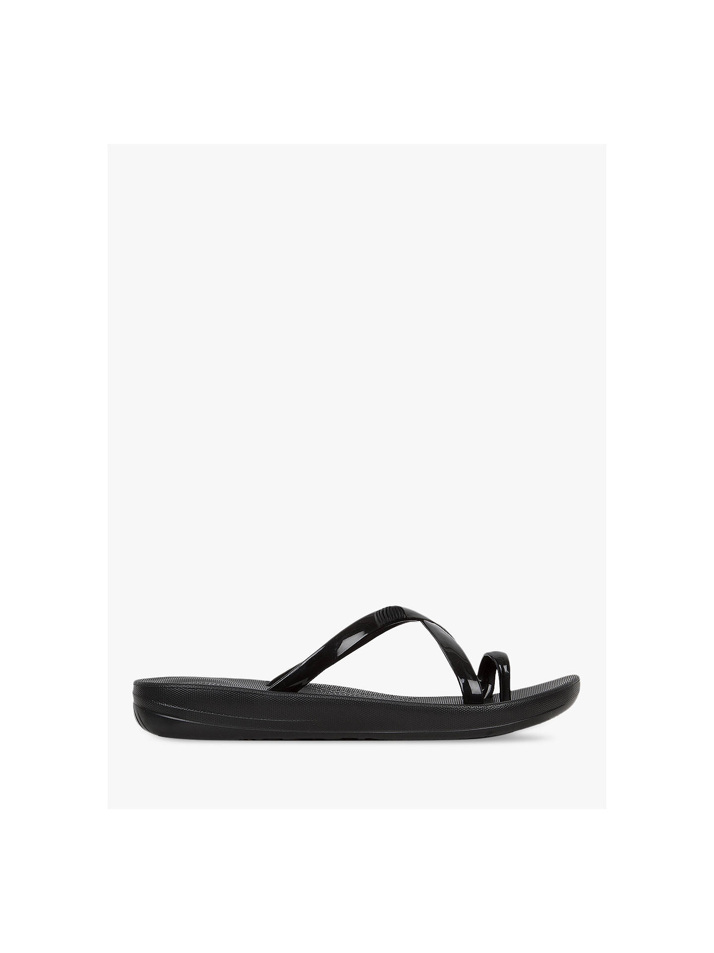 54468adab86d21 FitFlop Iqushion Wave Slide Sandals at John Lewis   Partners