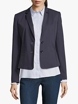 Betty & Co. Short Tailored Blazer, Dark Sapphire