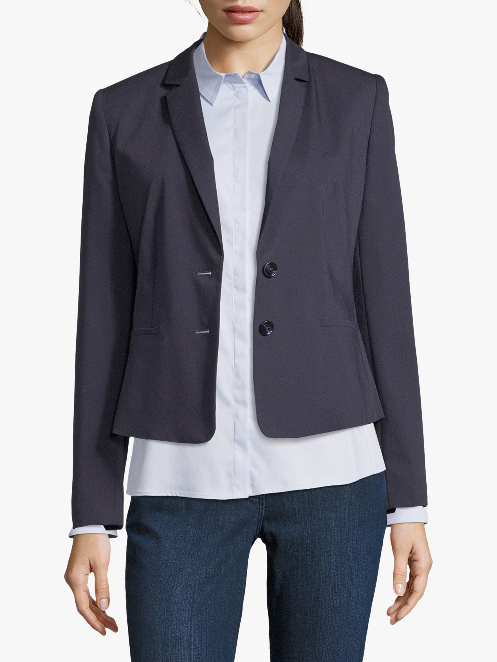 Betty & Co. Betty & Co. Short Tailored Blazer, Dark Sapphire