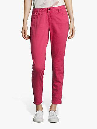Betty & Co. 5 Pocket Slim Jeans, Raspberry