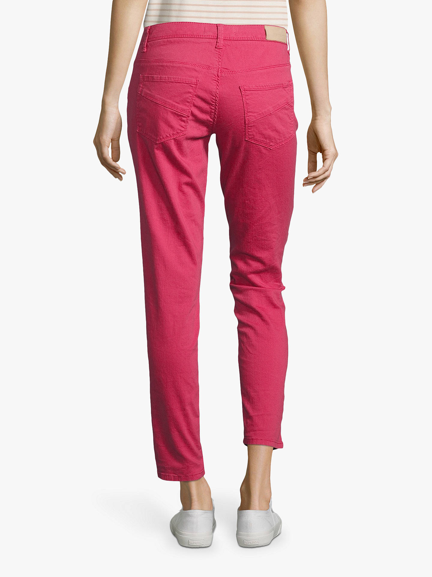 Buy Betty & Co. 5 Pocket Slim Jeans, Raspberry, 14 Online at johnlewis.com