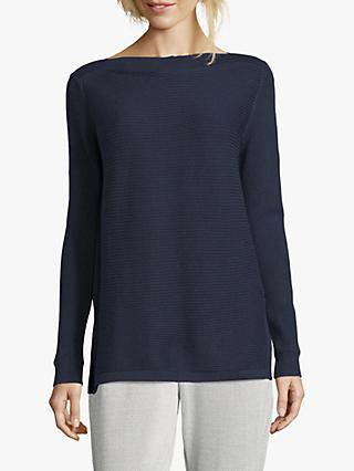Betty & Co. Ribbed Jumper, Navy