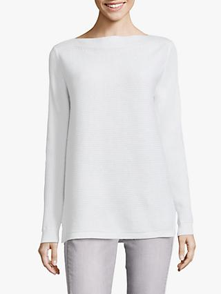 Betty & Co. Ribbed Jumper, White