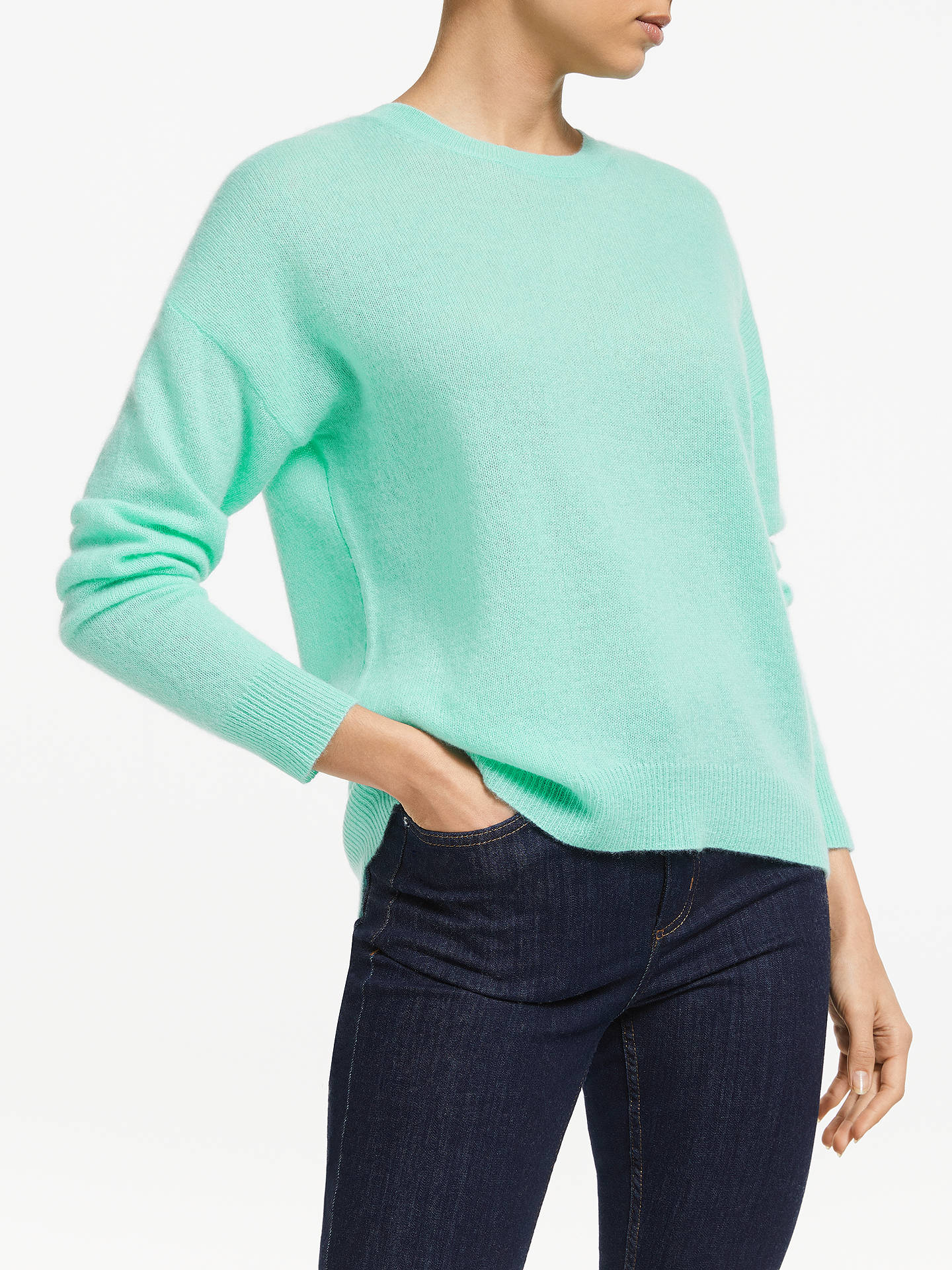 d7870acba07 360 Sweater Camille Pure Cashmere Jumper, Seagreen