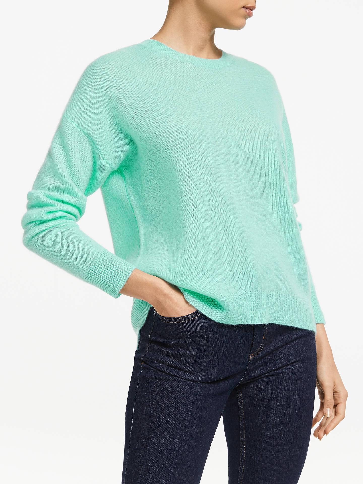 d7870acba07 360 Sweater Camille Pure Cashmere Jumper, Seagreen