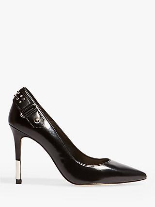 d7ee49e6f7a8 Karen Millen Tipped High Heel Court Shoes