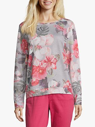 Betty & Co. Floral Print Top, Multi