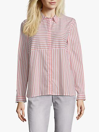 Betty & Co. Striped Shirt, Orange/White