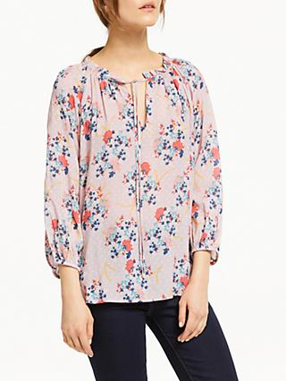 Velvet by Graham & Spencer Sharla Top, Pink Floral