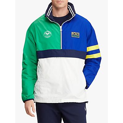 Polo Ralph Lauren Wimbledon Pullover Jacket, Multi