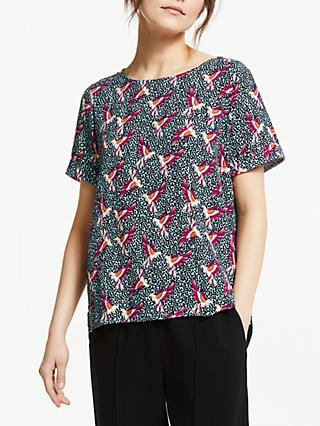 POM Amsterdam Lovebirds Top, Multi