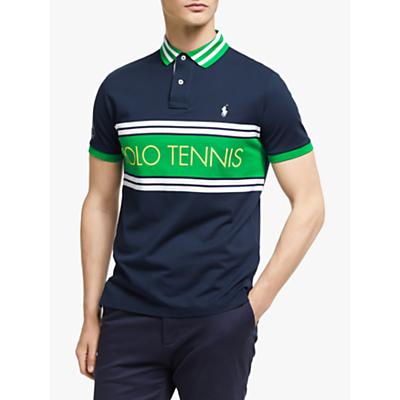 Polo Ralph Lauren Wimbledon Polo Tennis Polo Shirt, French Navy